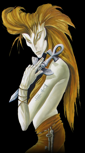 PRINT: I The Alchemist Character From The Alchemist Tarot