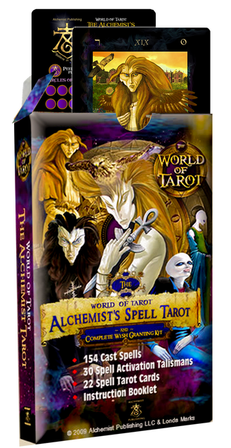 The Alchemist's Spell Tarot & Wish Granting Kit