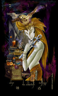 I The Alchemist, Alchemist Tarot