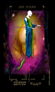 XXI The World Of Tarot, Alchemist Tarot