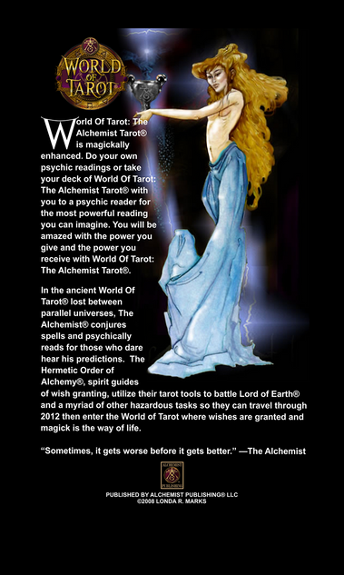 Intro Card, The Alchemist Tarot