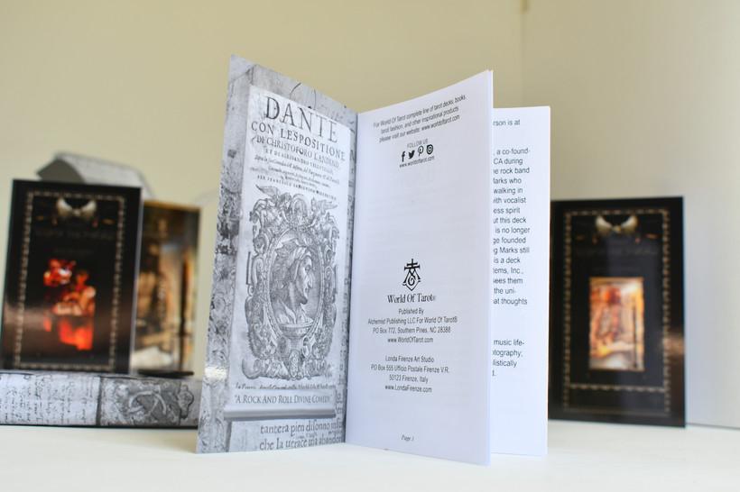 """Kismet, Way Of The Sword"" Complete Tarocchi Deck/Kit Inside a Booklet"