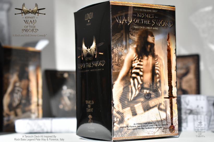 """""""Kismet, Way Of The Sword"""" Complete Tarocchi Deck/Kit"""
