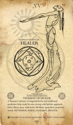 Healer, Print