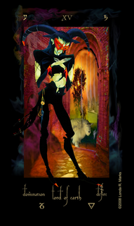 XV Lord Of Earth, Alchemist Tarot