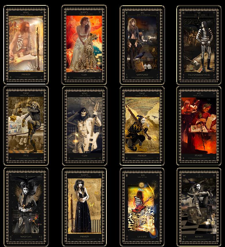 Kismet Way Of The Sword Tarot Cards