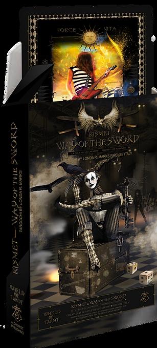 Kismet, Way Of The Sword Tarot Major Arcana