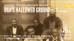 [SOLD OUT] Hallowed Ground at the University of Georgia