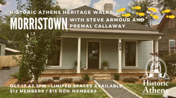Historic African American Neighborhoods of Athens: Morristown