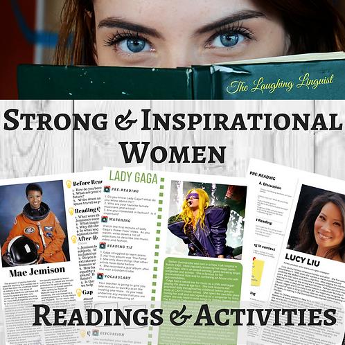 Strong Inspirational - Women - The Lau