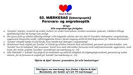 65_MÆRKESAG_Heart & Soul_'Hjerte & Sjæl'