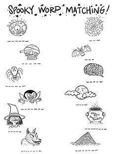 Spooky Halloween Matching Game