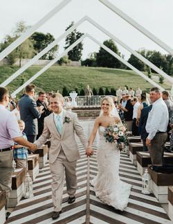 Outdoor Wedding Kansas City Mo