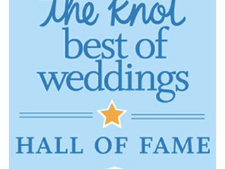 We Won The Knot Best of Weddings 2018!