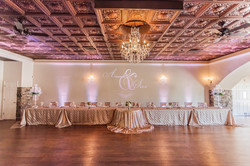 Champagne and Blush Reception