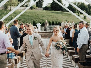 Our First Wedding in The Open Air Chapel!