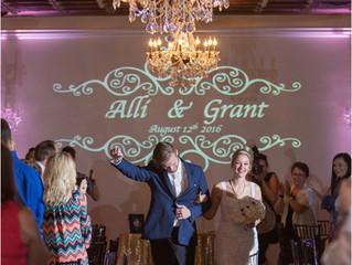 Gotta Love that Chandelier Aisle for Grand Entrances!
