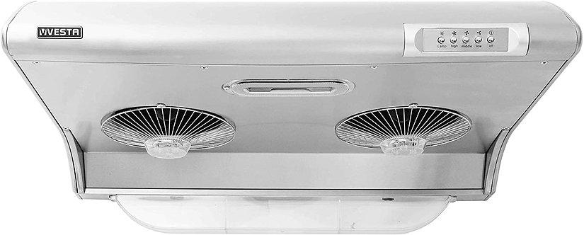 VESTA 750FM 30英寸不锈钢橱柜抽油烟机