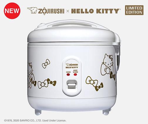 ZOJIRUSHI/象印 x HELLO KITTY 自动保温电饭煲 NS-RPC10KT