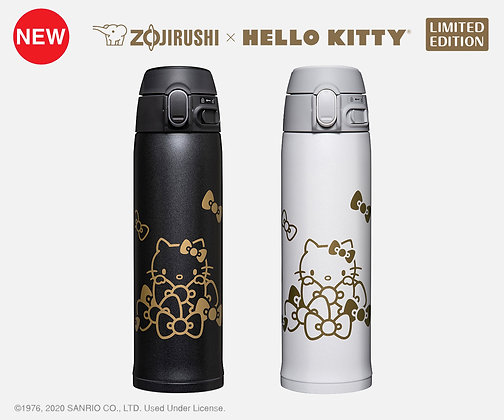 ZOJIRUSHI/象印 x HELLO KITTY 不锈钢保温杯 SM-TA48KT