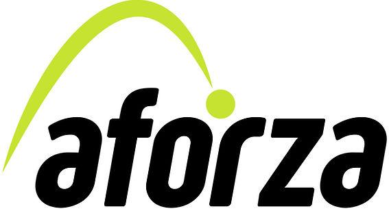 Aforza Logo - Full Colour - White backgr