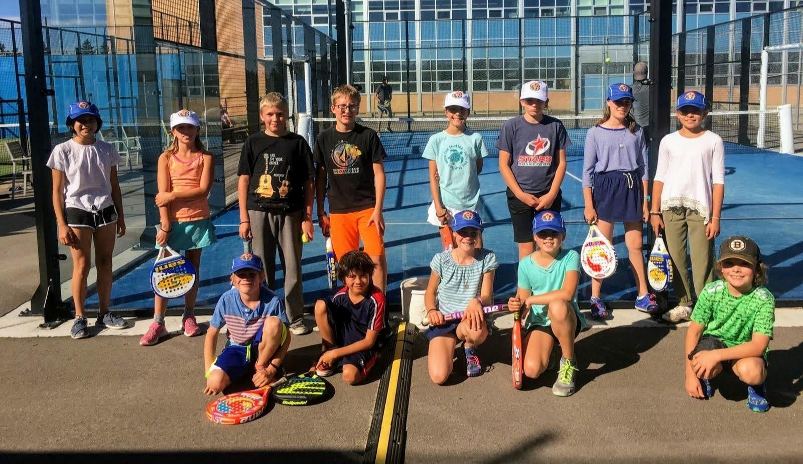 Padel Tennis Junior Summer Camp