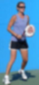 Woman padel tennis player