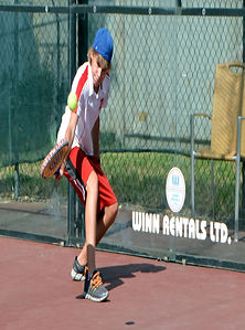 kids playing padel tennis