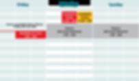 Padel Calgary weekend calendar