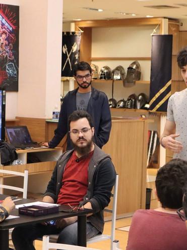 Workshop Criando seu Boardgame na Game Vault Shopping Frei Caneca