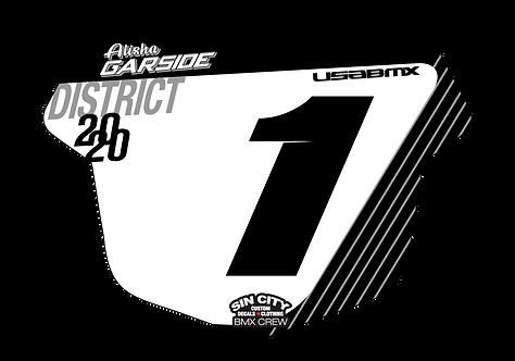 Sin City USA BMX Tangent Plate Insert