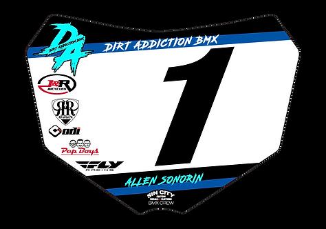 Dirt Addiction Team - Sin City Plate