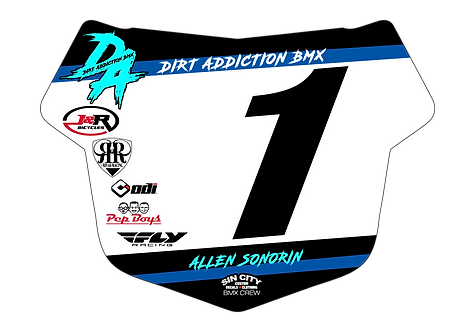 Dirt Addiction Team  - Tangent Plate Insert