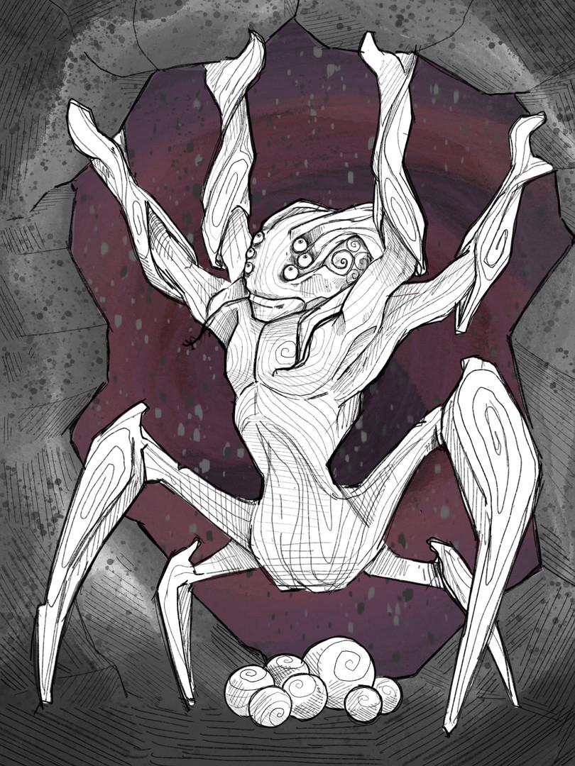 Das Spinnenwesen