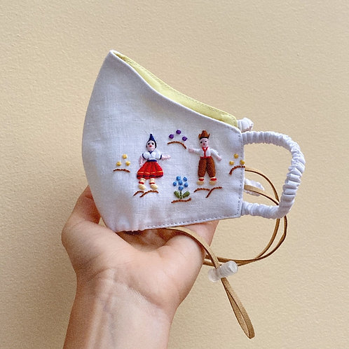 Hand-Embroidered mask