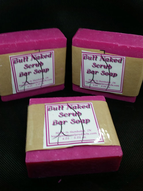 Butt Naked Scrub Bar Soap