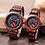 Thumbnail: BOBO BIRD Wooden Watch Set Top Brand Luxury Relogio Masculino