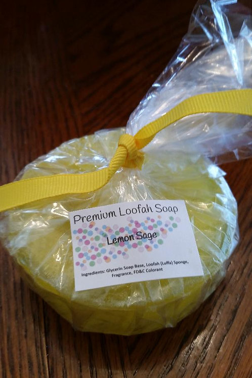 LEMON SAGE LOOFA