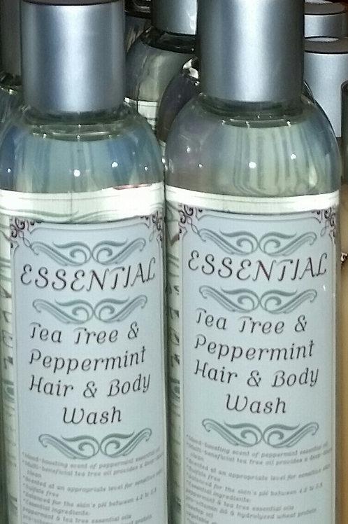 Essential Tea Tree & Peppermint Hair & Body Wash