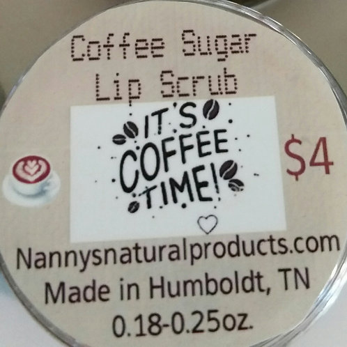 Coffee Sugar Lip Scrub