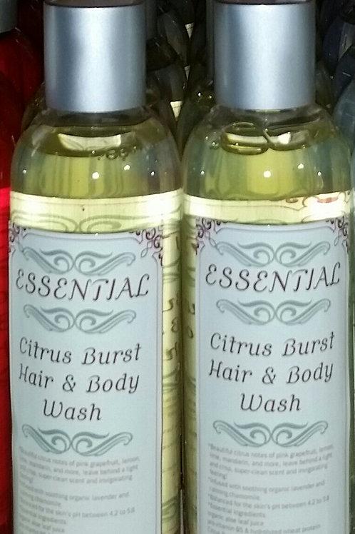 Essential Citrus Burst Hair & Body Wash