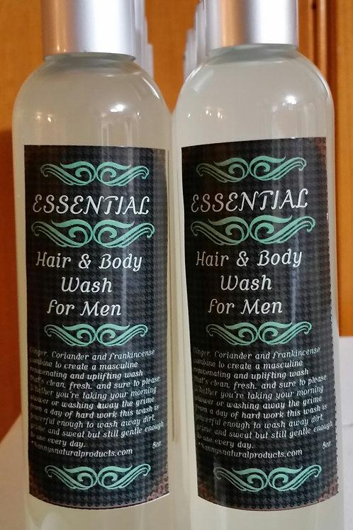 Essential Hair & Body Wash For Men