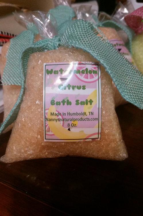 Watermelon Citrus Bath Salt