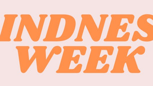 Kindness Week Bingo Sheet