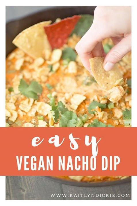 Easy Vegan Nacho Dip
