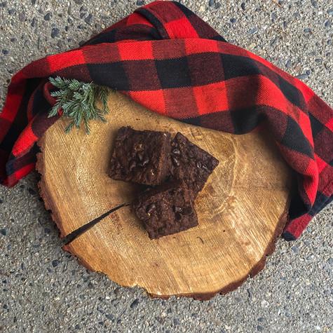 Vegan Chocolate Zucchini Brownies (GF Option)