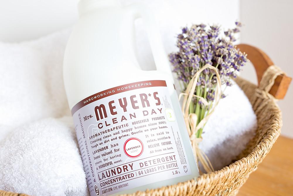 Meyers laundry detergent, lavender detergent, cruelty-free laundry detergent, cruelty-free laundry, eco-friendly laundry
