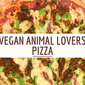 Vegan Animal Lovers Pizza