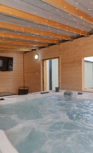 Option 1 Indoor Hot Tub