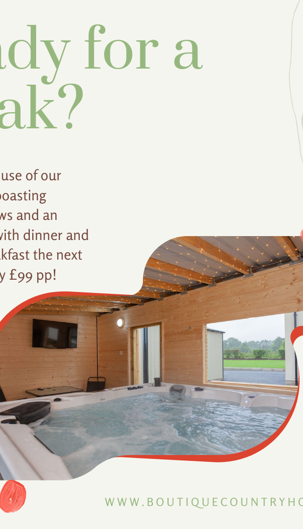 Boutique Country House Hot Tub Experience